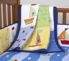 Baby Boats Toddler Quilt | Pottery Barn Kids & Baby Boats Toddler Quilt Adamdwight.com