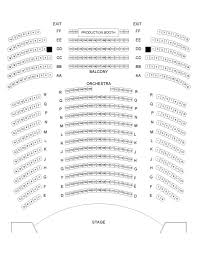 Seating Chart Tsai Performance Center