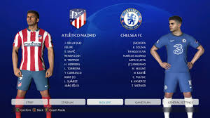 PES 2017 | NEW SEASON UCL MOD 2021 | ATLETICO MADRID VS CHELSEA FHD  GAMEPLAY 2021 - YouTube