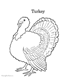 Small Picture Turkey Thanksgiving Coloring Book Pages 019