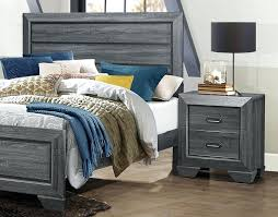 bedrooms and more. Simple And Rustic Grey Modern Bed Night Stand Gray Nightstand Bedrooms And More San  Carlos  With Bedrooms And More