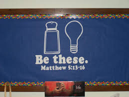 Salt And Light Poster Be These Salt Light Church Bulletin Boards Library
