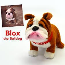 blox the bulldog stuffed animal