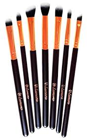 makeup eye brush set eyeshadow eyeliner blending crease kit best choice 7 essential makeup