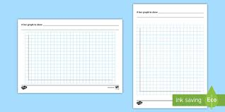 Printable Grid Paper Template Custom Bar Graph Template Bar Chart Template Maths Designing