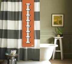 nfl shower curtains football shower tag for your shower curtain bathroom accessory nfl shower curtains