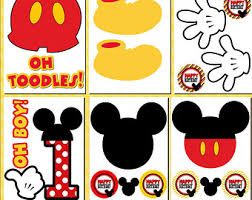 Mickey Mouse Party Printables Free Mickey Mouse Printables Cliparts Co