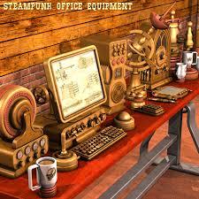 Steampunk Office Equipment