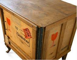 shipping crate furniture. sustainable design green furnishing interiors export shipping crate furniture