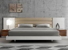 White Platform Bed Modern Furniture Stores Chicago