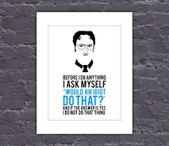 the office poster. the office poster dwight quote tv by quotenote