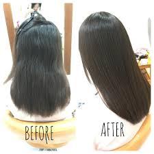 縮毛矯正髪質改善アイロンで毛先が硬くなってしまっている髪質を