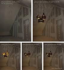 Filigrain Lampen In Een Trosje Voor Vide De Hal Of Hoog Plafond