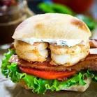 bbq shrimp  blt  sandwich