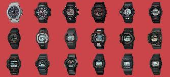 Casio G Shock Size Chart The Casio G Shock A Brief History Honours Topics The