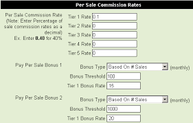 Affiliate Software With Flexible Commission Payout Structures