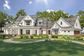 country house plans architectural designs french home with walkout basement 16898wg nu 9 15017
