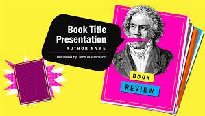 Book Report Poster Template Book Report Presentation