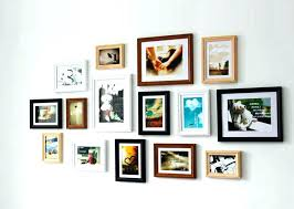 8x10 photo collage frame picture frames cool wall site in regarding hanging 5x7
