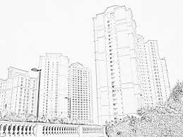 architectural drawings of skyscrapers. Modren Skyscrapers Cluster Buildings Skyscrapers Sketch Intended Architectural Drawings Of Skyscrapers
