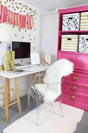 Pink and Gold Gorgeous Office Nook