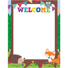Welcome Chart Images Details About Woodland Friends Welcome Chart Creative Teaching Press Ctp5280