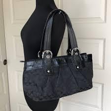 Coach Monogram Large Tote Bag
