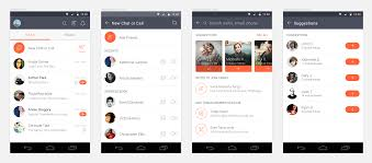 Android List Ui Design 20 Seamless Connection With Friends