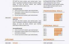 Cv Simple Exemple Image Pour Cv Exemple Cvs Resume New Resume Cv