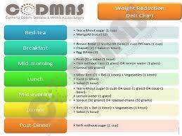 Diet Chart Bariatric Surgery Dr Jasmeet Singh Ahluwalia