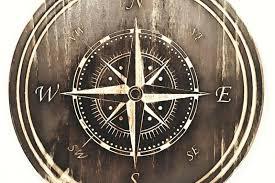 nautical compass wall art nautical compass rose wall art