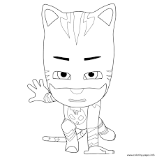 Small Picture PJ Masks ready to fight Coloring pages Printable