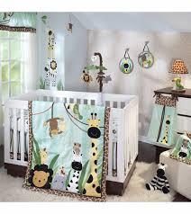 lambs amp ivy k a boo jungle 5 piece crib bedding set