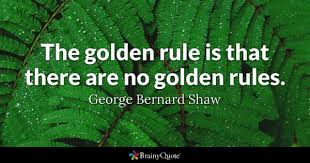 Golden Rule Quotes