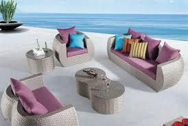 indoor outdoor furniture patio rattan sofa set OMR 100 OMIER