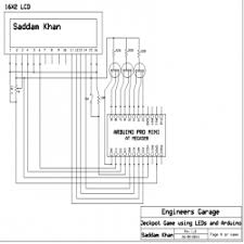 jackpot game using led and arduino engineersgarage jackpot game using arduino circuit diagram