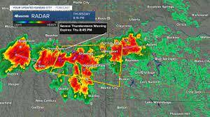 Severe storms move through KC area ...