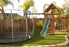 Playground Sets For Small Backyard Landscaping Ideas Kids Friendly Backyard Designs For Kids