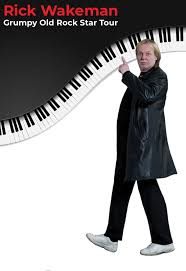 <b>Rick Wakeman</b> of YES - The Grumpy Old Rock Star Tour | The ...