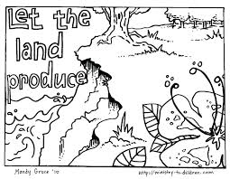 Creation Bible Coloring Pages Creation Color Pages Creation Bible
