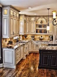 antique white kitchen cabinet ideas.  Kitchen Best Antique White Kitchens Images Antique Cabinets Kitchen  On Kitchen Cabinet Ideas Pinterest