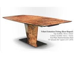 Aa Laun Coffee Table Oios Metals Volare Extension Table