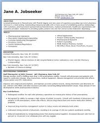 Pharmacist Resume Sample Resume Downloads