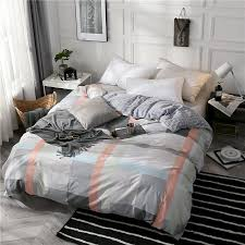2019 100 cotton duvet cover twin full queen king size blue plaid cartoon red plaid gray red new fashion duvet quilt cover from anzhuhua 37 99 dhgate