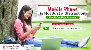 mobile phone is not just a distraction