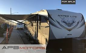2016 forest river hyperlite xlr toyhauler rv cer trailer bunk house sold