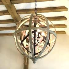 literarywondrous orb chandelier wood orb chandelier wood orb chandelier vineyard contemporary metal and wood frame orb chandelier