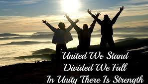 united we stand divided we fall activity can make united to  united we stand divided we fall