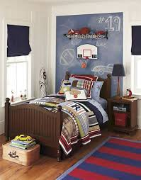 Boys Bedroom Decorating Ideas Sports