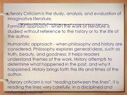 marxist literary criticism lord of the flies ppt video online  literary criticism is the study analysis and evaluation of imaginative literature